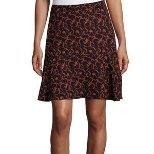 A.L.C. 100% Silk Mini Skirt